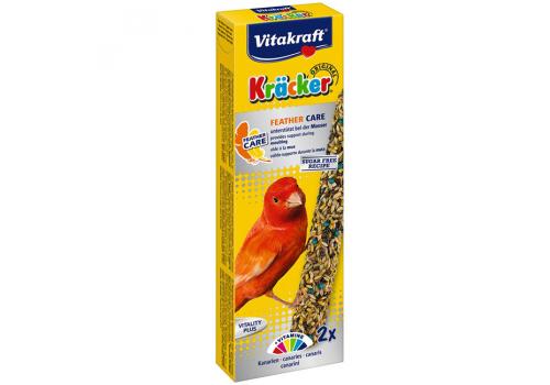 Лакомство для птиц Vitakraft Крекеры для канареек при линьке, 2шт