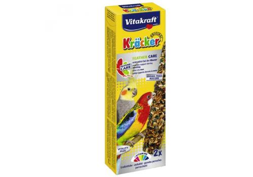 Лакомство для птиц Vitakraft Крекеры для средних попугаев при линьке, 2шт