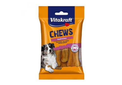 Жевательные кости Vitakraft Chews Bones из свиной кожи 8см 5шт/уп