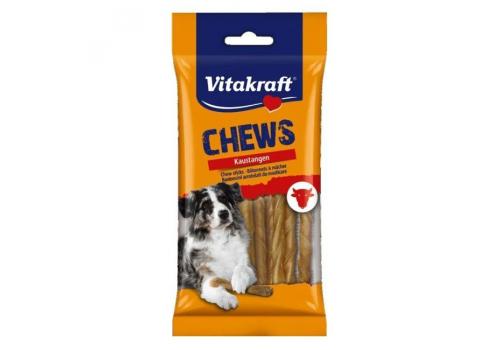 Жевательные кости Vitakraft Chews Bones из сыромятной кожи 12.5см 10шт/уп