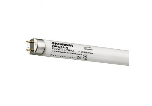Лампа Sylvania Grolux T8, 30Вт 895мм