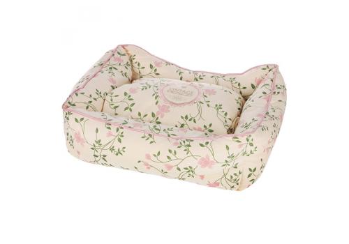 Лежак Fauna Int. Infinity Pink S, для собак мелких пород и кошек