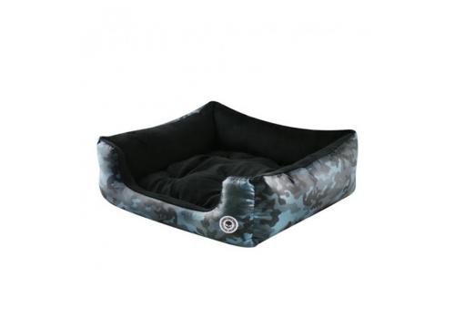 Лежак For My Dogs FW13, черно/серый