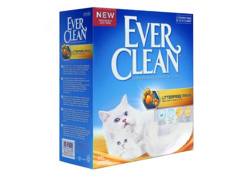 Наполнитель Ever Clean Litter free Paws комкующийся 10л