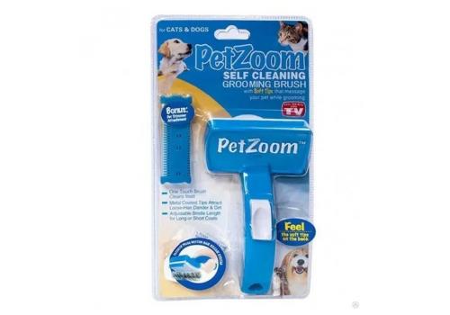 Щетка для вычесывания PetZoom F8072 для кошек и собак