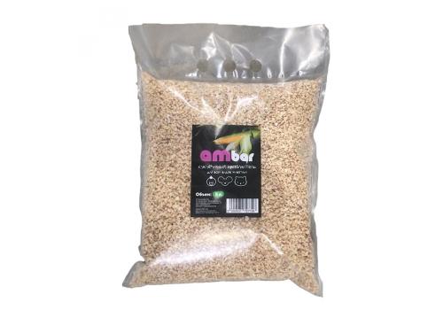Кукурузный наполнитель Ambar, впитывающий, для всех видов животных, 5л