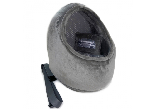 Лежанка DB Ракушка для собак, серый