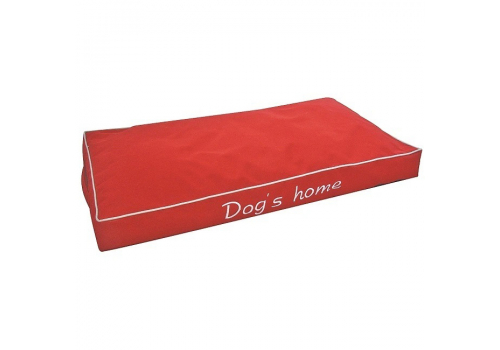 Лежанка Lilli Pet Dogs Home для собак, красный, 75х40х8см