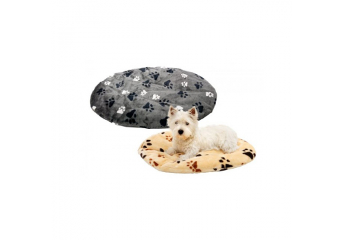 Лежанка Lilli Pet Paws для собак, бежевая, 70х45х8см