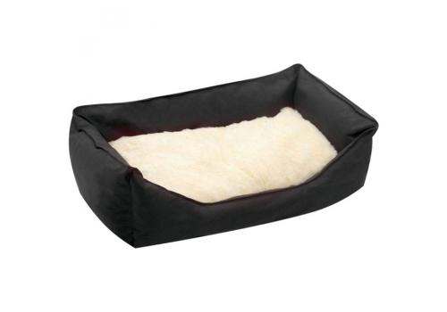 Лежанка Karlie Orso для собак, 80x60x23, черный