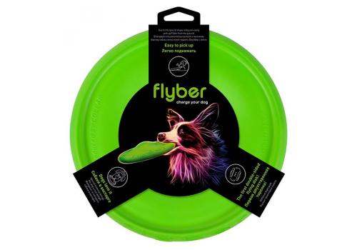 Летающая тарелка COLLAR Флайбер, зеленая, 22см